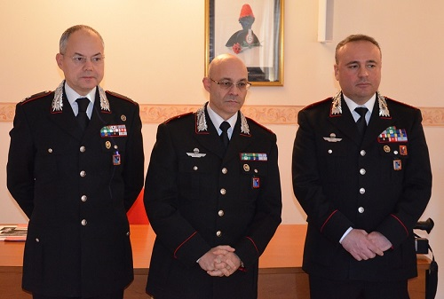 foto conferenza stampa bilancio 2016 Carabinieri Isernia