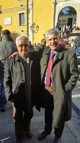 Gianni Spina in visita all'Associazione Giuseppe Tedeschi