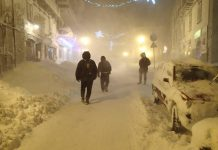 Neve ad Agnone (foto Vittorio Labanca)