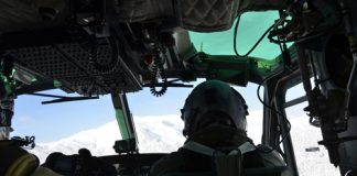 elicottero dell'Aeronautica Molise