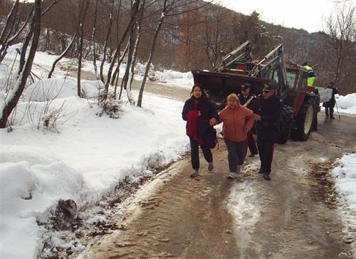 neve assistenza alla popolazione