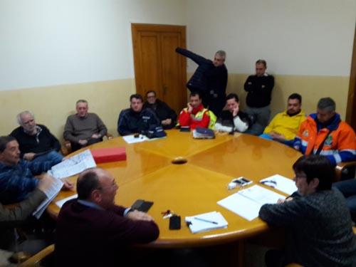 riunione operativa a Termoli
