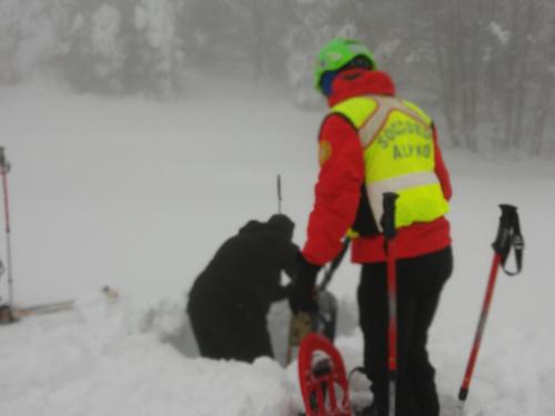 soccorso alpino in Abruzzo