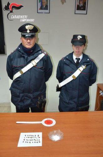 Eroina e cocaina nel reggiseno, 37enne arrestata aMontagano