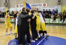 Basket, Dynamic Venafro-Crabs Rimini 79-74