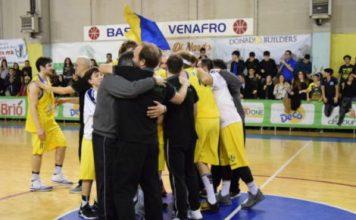Basket, Dynamic Venafro-Crabs Rimini 79-74
