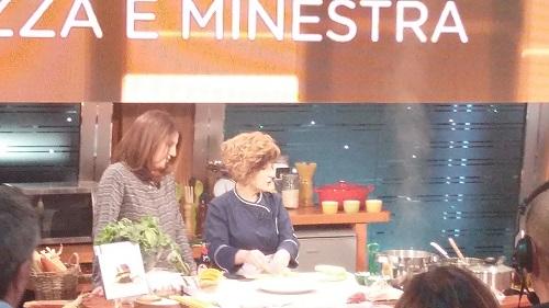 Chef di Campobasso Mariassunta Palazzo oggi alla trasmissione Geo