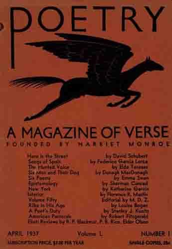 copertina Poetry con poesia della Tanasso