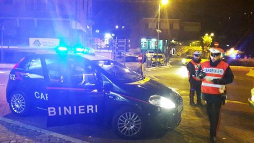 Isernia, festività fine anno: i controlli straordinari dei Carabinieri