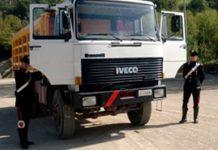 foto sequestro camion