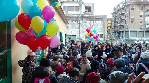 inaugurazione scuola Campobasso