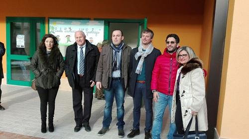 inaugurazione scuola via Berlinguer a Campobasso