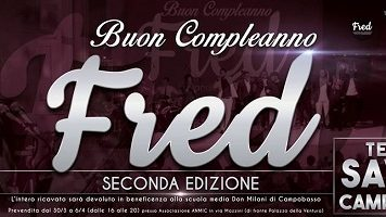 Buon compleanno Fred