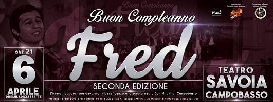 Buon compleanno Fred