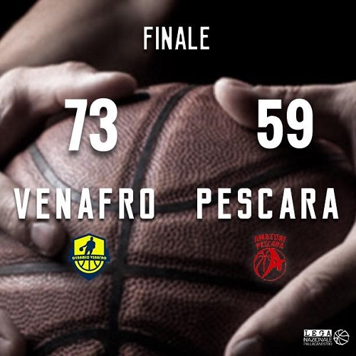 Dynamic Venafro-Amatori Pescara 73-59