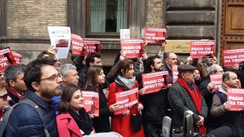 Referendum su voucher e appalti, Sinistra Italiana alla manifestazione di Roma