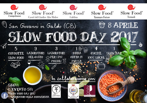 Slow Food Day 2017 Galdina