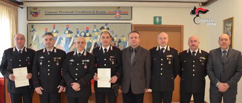 foto Carabinieri premiati