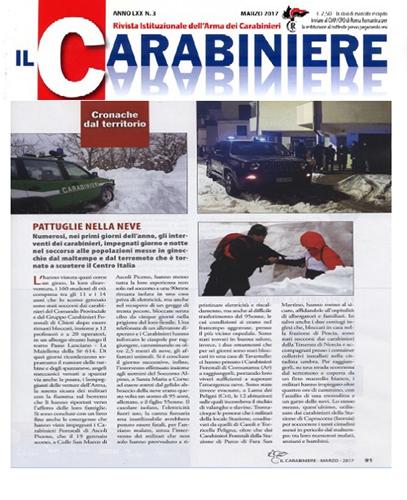 rivista Il Carabiniere