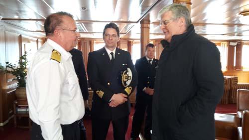 incontro tra il sindaco e il comandante Demovic
