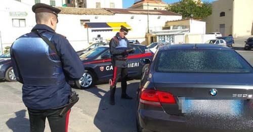 Controlli e posti di blocco Carabinieri
