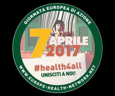 Giornata europea di mobilitazione per la difesa della sanità pubblica