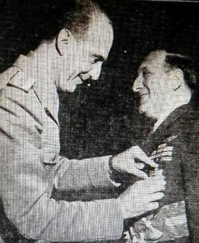 Humbert William Ziroli premiato da Re Umberto II di Savoia