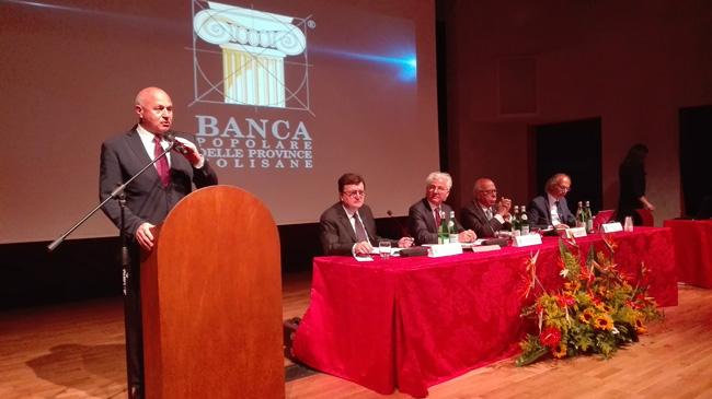 10 anni Banca Popolare delle Province Molisane: l'intervento di Battista