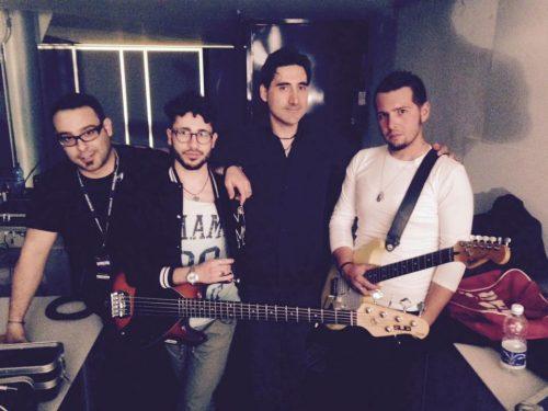Luigi Farinaccio con la sua band