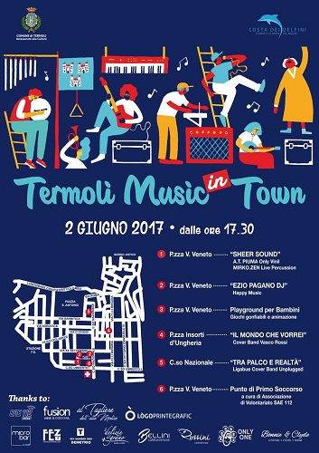 Termoli Music in Tour 2017