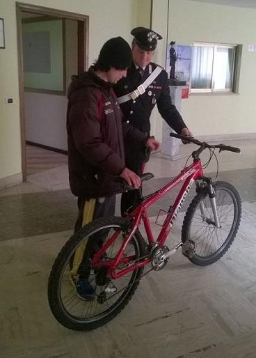 foto bici recuperata