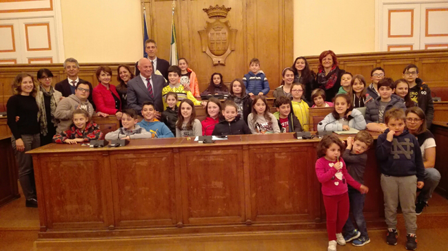 ultima seduta del Consiglio Comunale dei bambini e delle bambine
