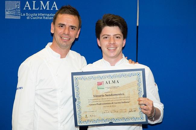 ALMA – Scuola Internazionale Cucina Italiana: un molisano tra i diplomati