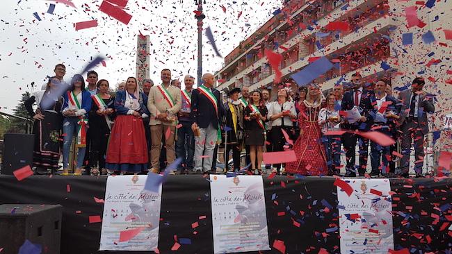 Inaugurazione 'La Città dei Misteri' e delle festività del Corpus Domini