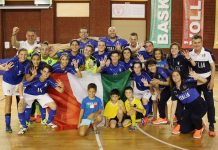 Italy v Russia - U17 Women Futsal Tournament