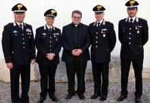 Mons Palumbo e vertici Arma