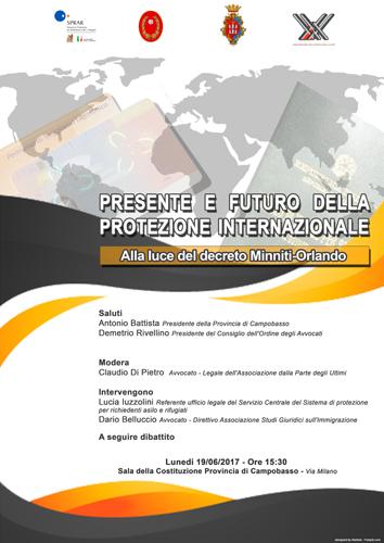 Presente e futuro della protezione internazionale alla luce del Decreto Minniti-Orlando