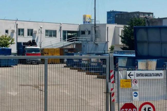 centro raccolta chiuso a Termoli