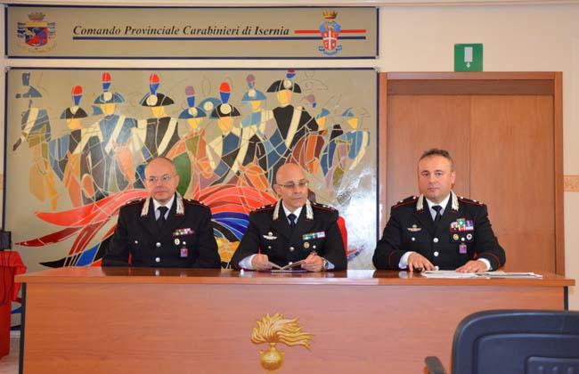 foto conferenza Carabinieri