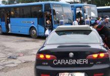 foto controllo al Terminal bus