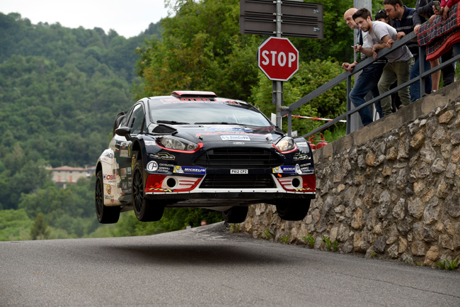 Giuseppe Testa, Massimo Bizzocchi (Ford Fiesta WRC #6)