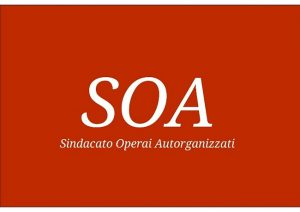 logo soa - Sindacato Operai Autorganizzati