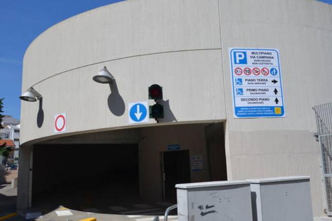 parcheggio via Campania Termoli
