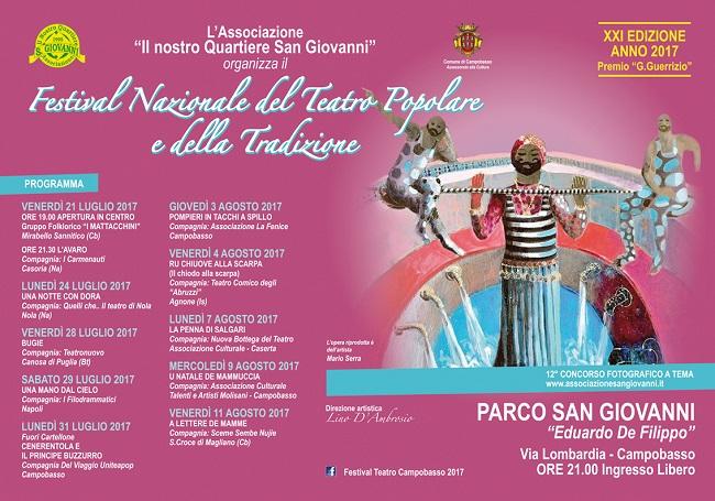 Festival del Teatro Popolare 2017