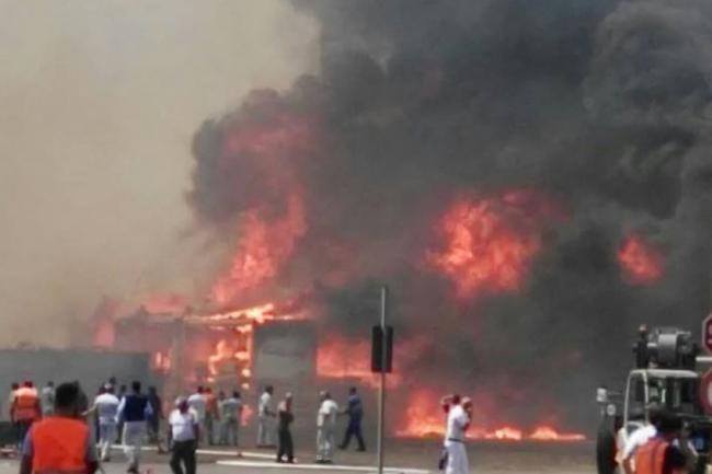 Termoli, emergenza incendi