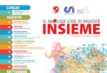 Calendario Eventi progetto Il Molise che si Muove Insieme tra Sport Cultura e Turismo