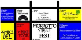 Morrutto Street Fest Locandina