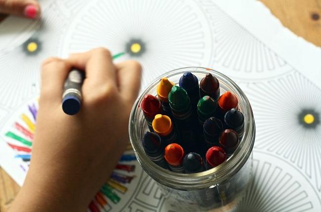 asili colori pennarelli