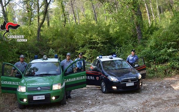 controlli antincendio Carabinieri