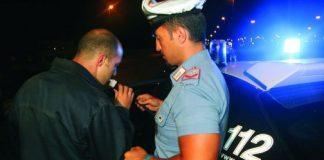 controllo Carabinieri alcoltest